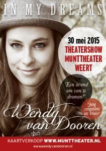 Flyer Theatershow Wendy van Dooren