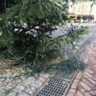 Vernielde kerstboom2 (Custom)
