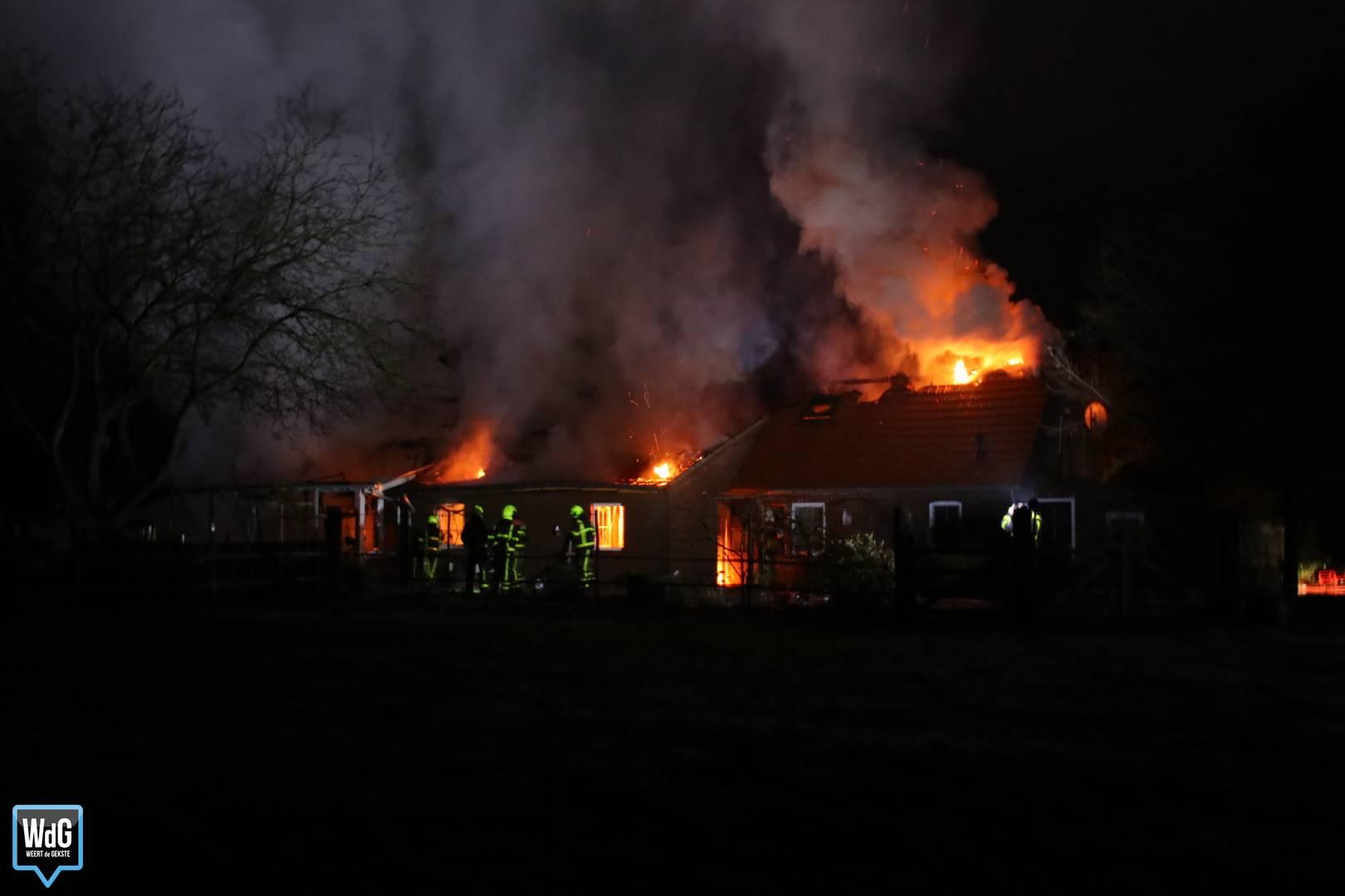 Uitslaande brand Heythuysen