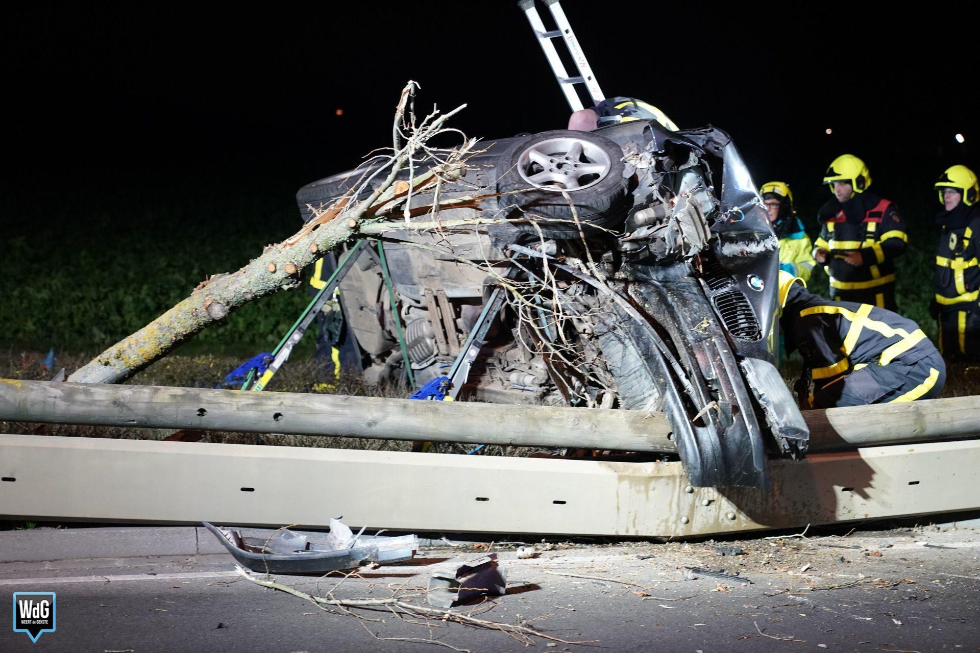 Drie gewonden bij ongeval in Stramproy