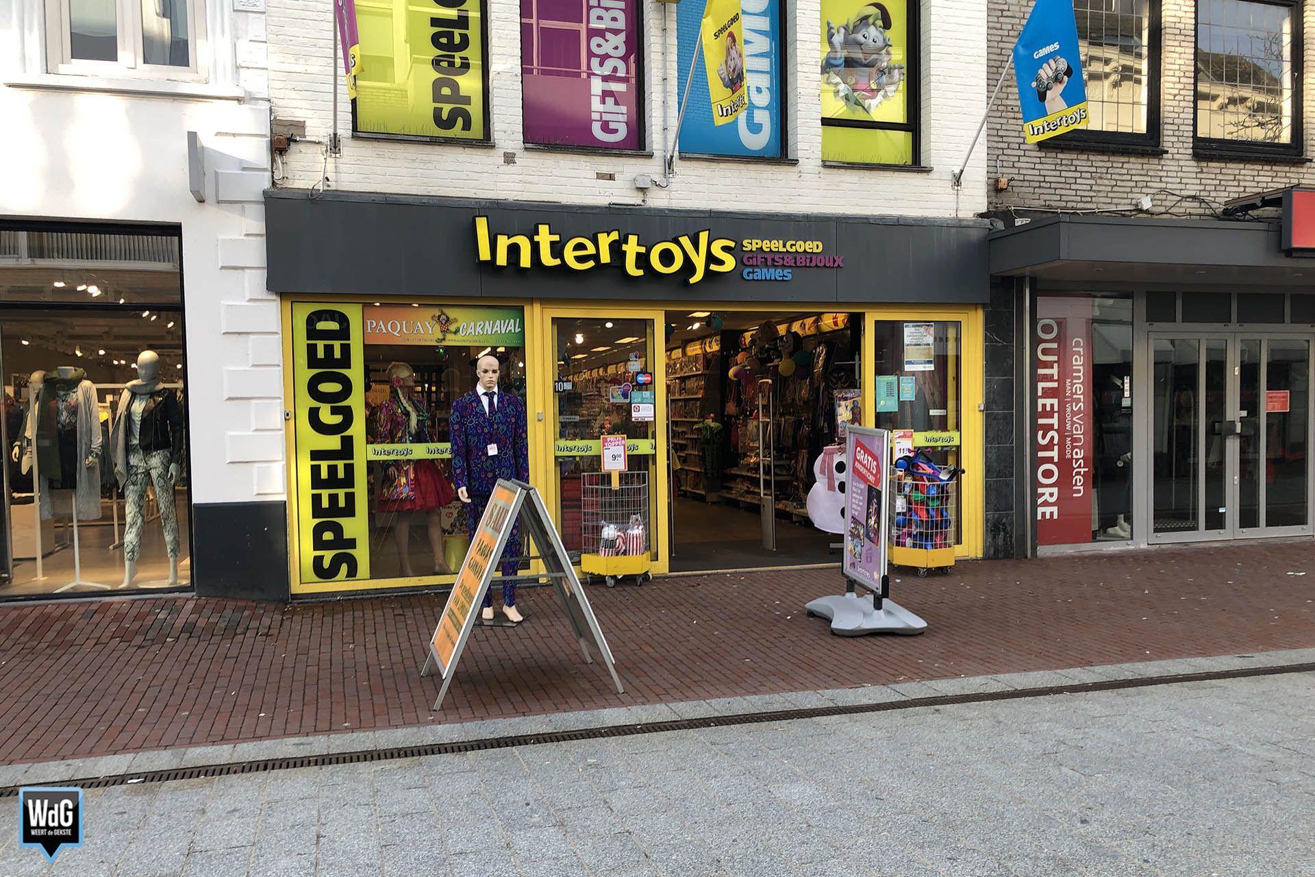Intertoys failliet, winkels blijven open